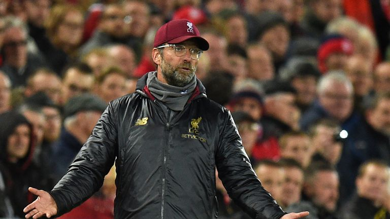 Jurgen Klopp saw Liverpool beat Red Star Belgrade