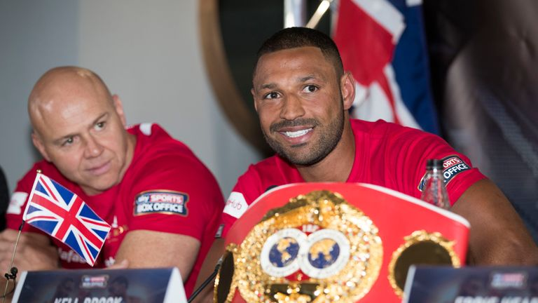Kell Brook denies rift with trainer Dominic Ingle | Boxing News |