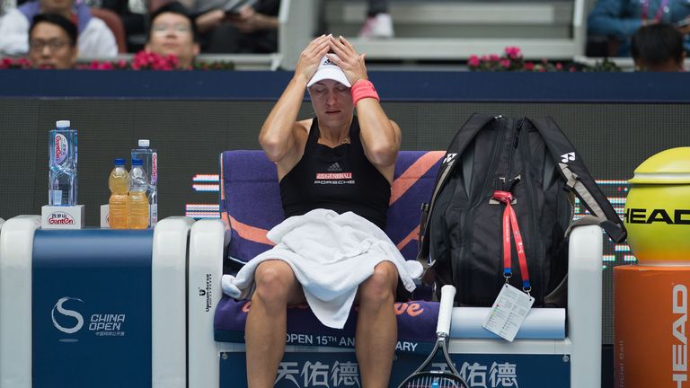 Wimbledon champion Kerber crashes out of tennis' China Open to local player