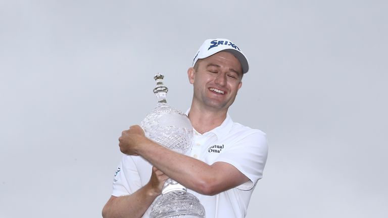 Russell Knox won his first European Tour title since 2015 at the Irish Open