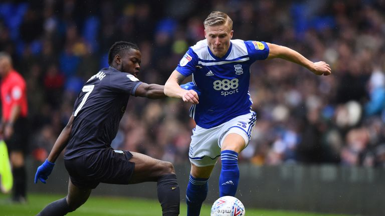 Kristian Pedersen is suspended for Birmingham