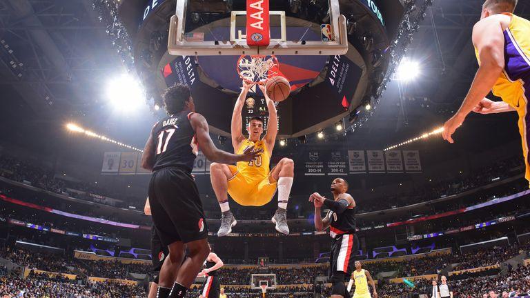 Sky Live: LeBron's LA debut