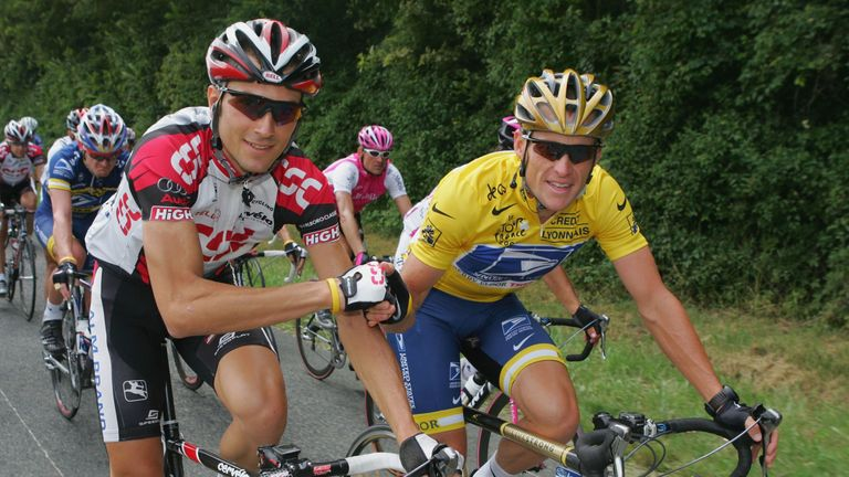 Lance Armstrong was stripped of seven Tour de France titles