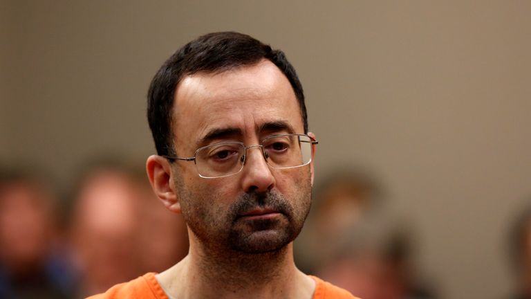 Larry Nassar was sentenced to 175 years in prison