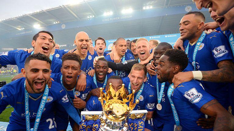 Leicester were fairy-tale Premier League winners in 2016