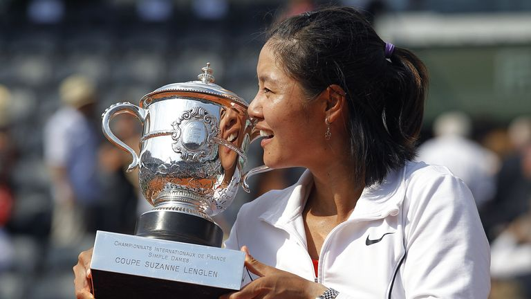 Li Na became the first Asian player to win a Grand Slam singles title at the 2011 French Open