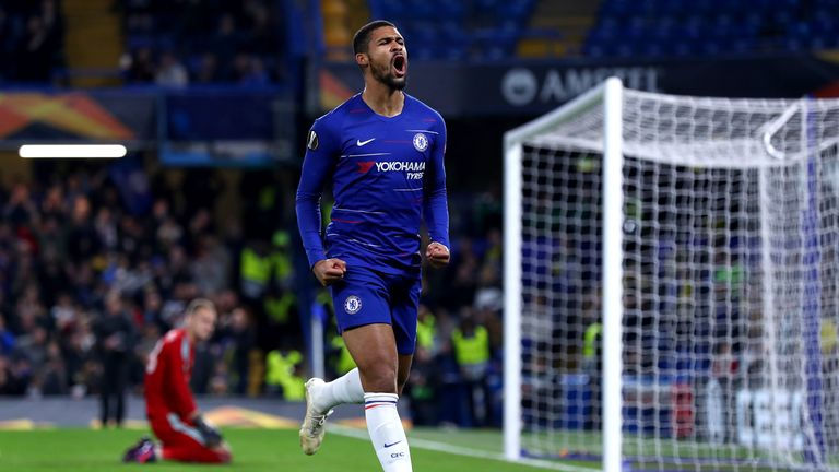 Ruben Loftus-Cheek scored an unlikely hat-trick to seal a 3-1 win for Chelsea over BATE
