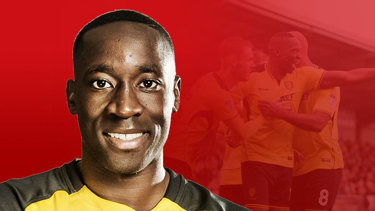 The versatile Lucas Akins has become a firm favourite at Burton Albion