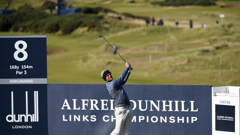 Pavan, Bjerregaard tied for lead at Dunhill Links
