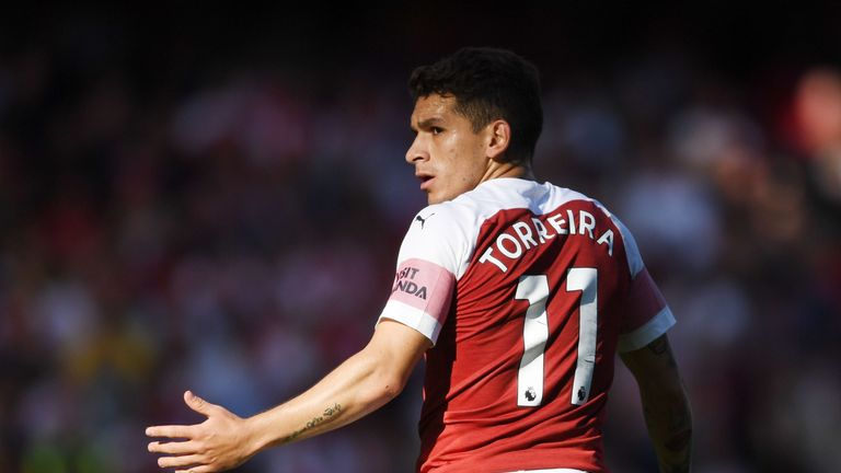 Lucas Torreira has started Arsenal's last three league games