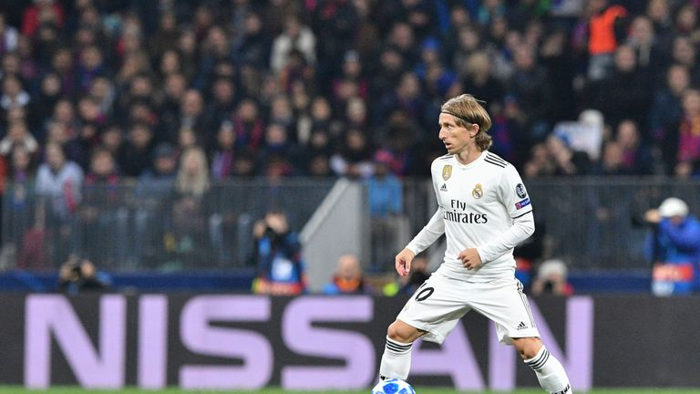Modric has won four Champions Leagues with Real Madrid