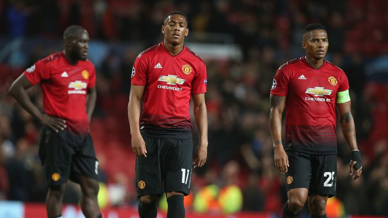 Anthony Martial and Antonio Valencia's contracts expire at the end of the season, but the club have the option to extend their deals by an extra 12 months
