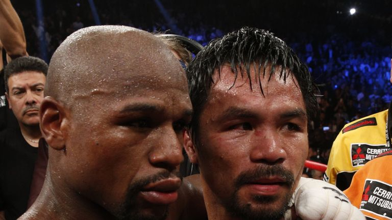 Manny Pacquiao has already said Mayweather wants to fight him again