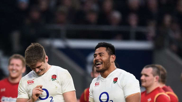 Manu Tuilagi last played for England against Wales in 2016
