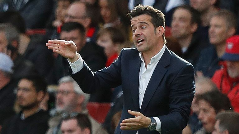 Marco Silva has guided Everton to three consecutive Premier League wins