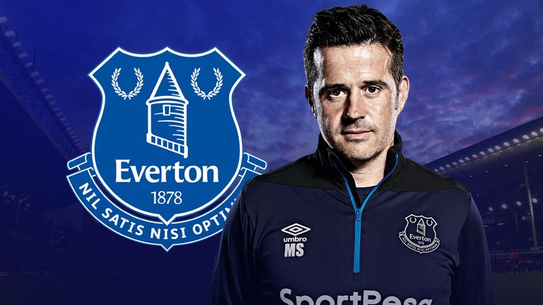 Marco Silva signed a three-year deal at Everton