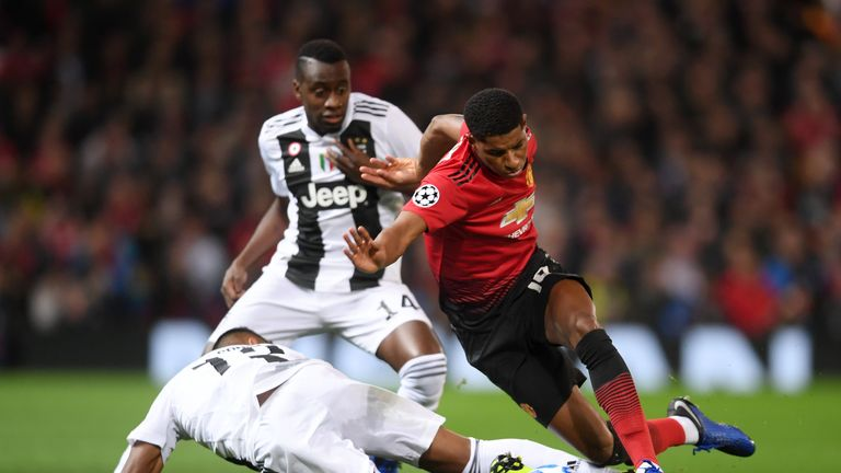 Juventus won the reverse fixture 1-0 at Old Trafford