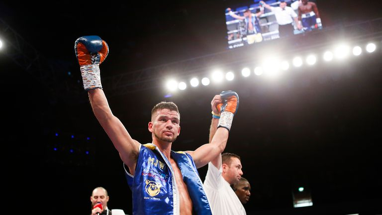 Does Martin J Ward (20-1-2) have what it takes to become world champion?