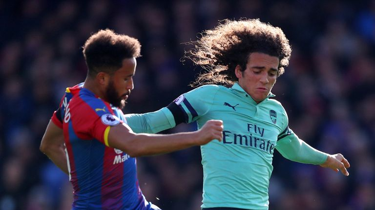 Matteo Guendouzi challenges Andros Townsend
