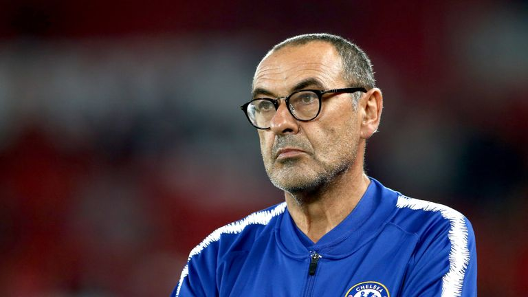 Sarri annoyed by Chelsea's poor defending, not their missed chances