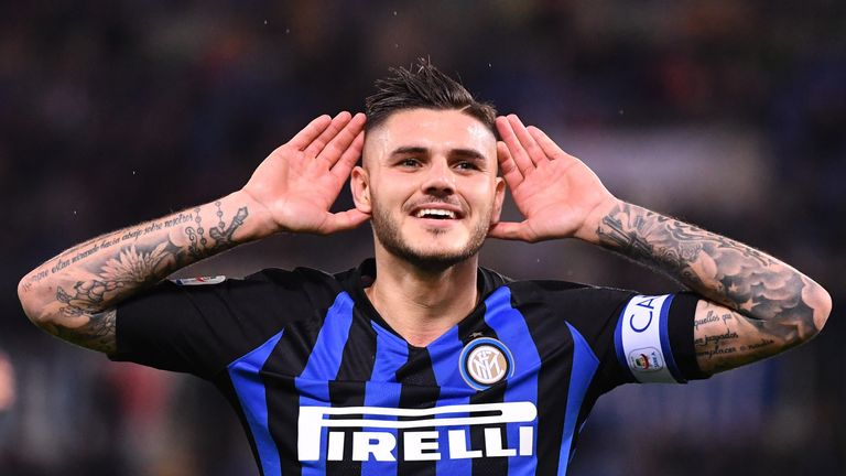Inter Milan striker Mauro Icardi is a reported target for Real Madrid