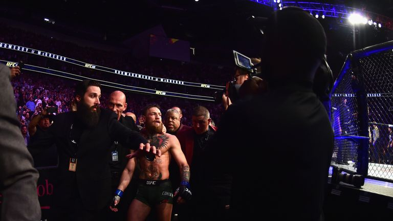 McGregor (pictured) and Nurmagomedov have been asked to attend the December 10 hearing in person