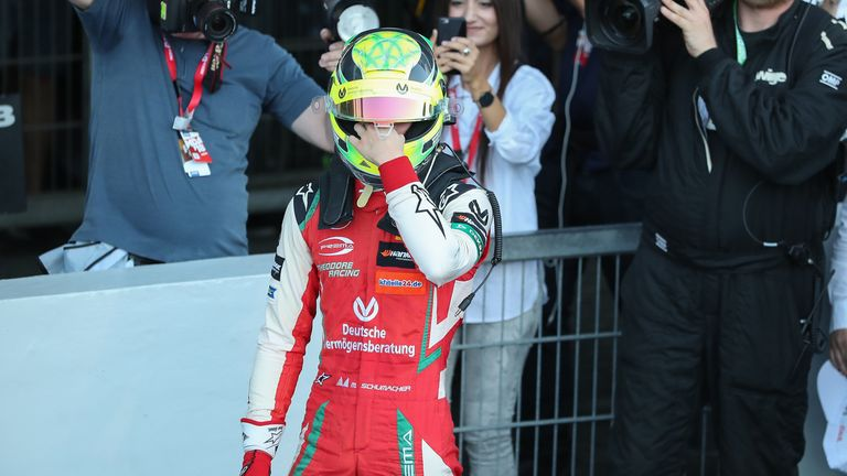 Mick Schumacher wins Formula 3 European title with race to spare