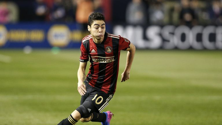 Almiron is one of the most coveted stars in MLS