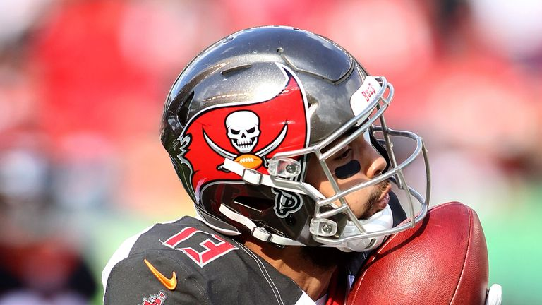 Mike Evans is set for a big game with Ryan Fitzpatrick back at QB for the Bucs