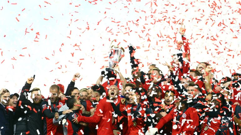 Toronto FC beat the Seattle Sounders 2-0 to claim the 2017 MLS Cup