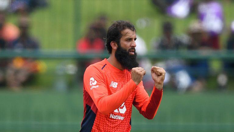 Moeen Ali dismissed both of Sri Lanka's set batsmen