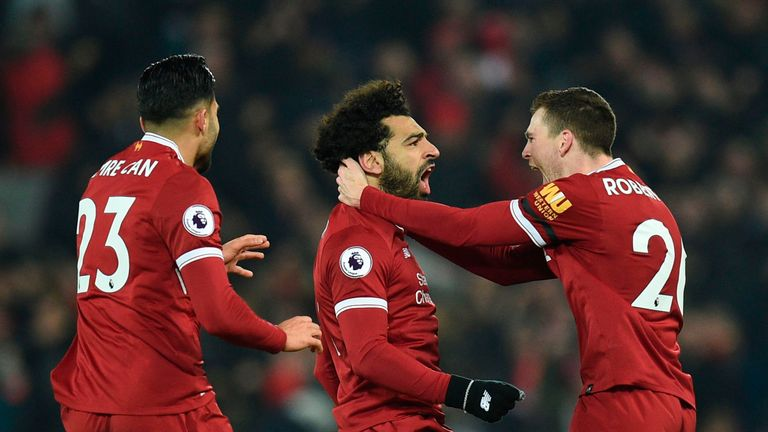Liverpool were fifth at this stage last season - now they're up to second