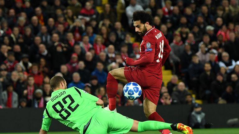 Liverpool beat Red Star Belgrade 4-0 in their last Champions League outing