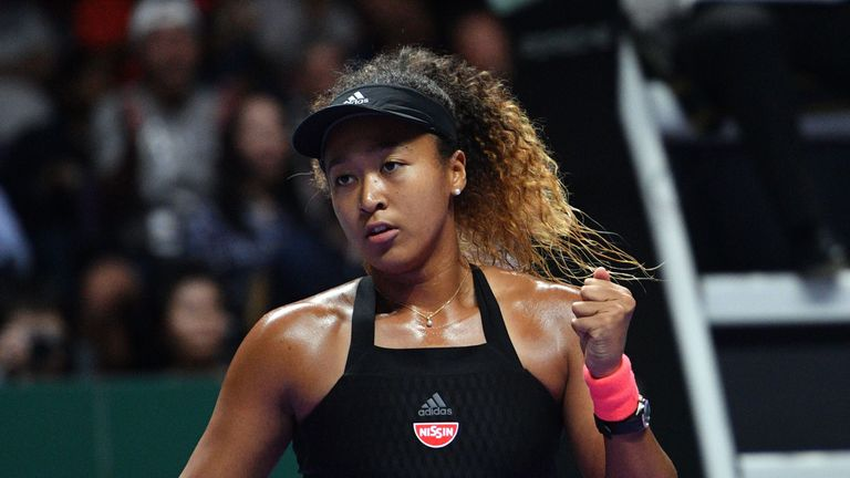 Japan's Naomi Osaka has enjoyed a breakthrough year on the WTA Tour
