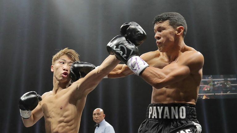 Inoue took less than a round to see off Payano