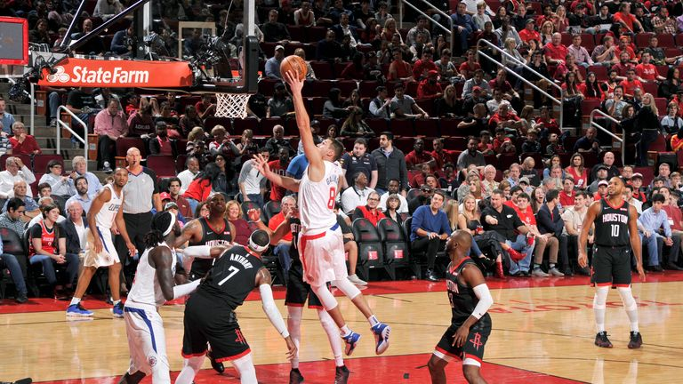 hosuton rockets los angeles clippers