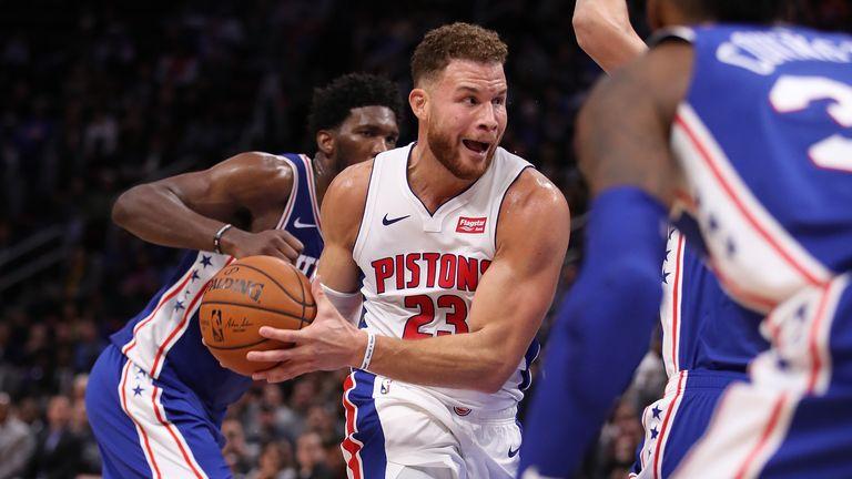 detroit pistons philadelphia 76ers NBA