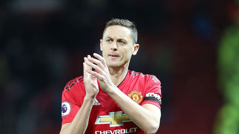 Matic helped United to a 2-1 win over Everton