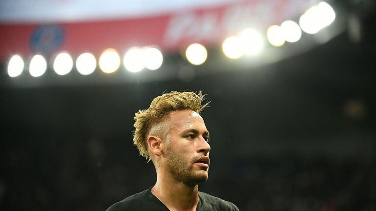 Neymar joined Barcelona from Santos in summer 2013, and then signed for Paris Saint-Germain four years later