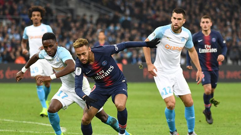PSG are top of Ligue 1 after winning all of their first 11 games