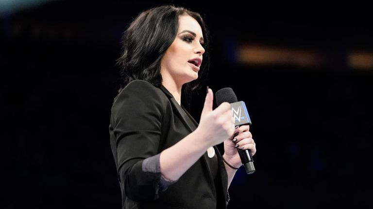 SmackDown general manager Paige confirmed management had decided to fire Samoa Joe