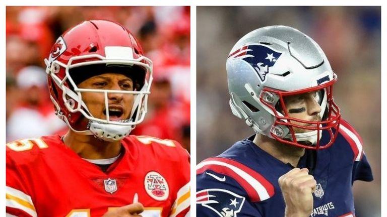 Patrick Mahomes and Tom Brady face off on Sunday night
