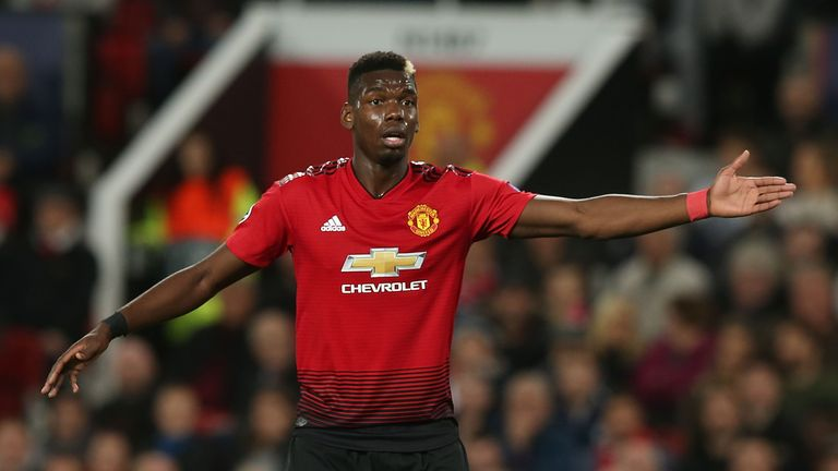 Paul Pogba says he was not allowed to talk after Tuesday's Champions League game against Valencia