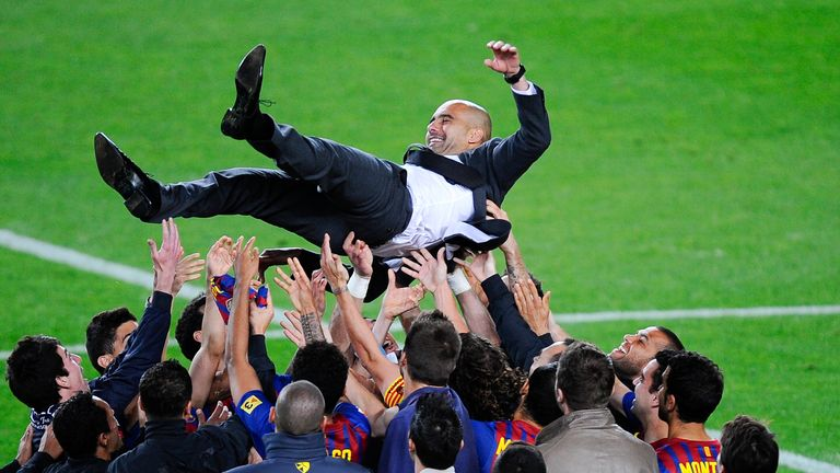 Guardiola on his final game in charge at the Nou Camp