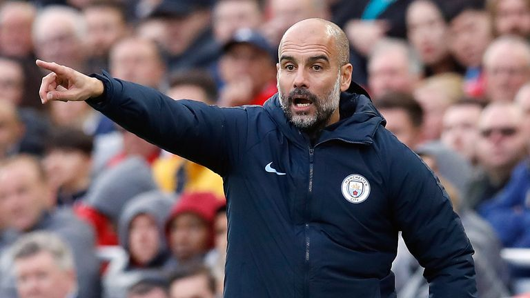 Pep Guardiola said his apologies to Jesus after the draw at Anfield