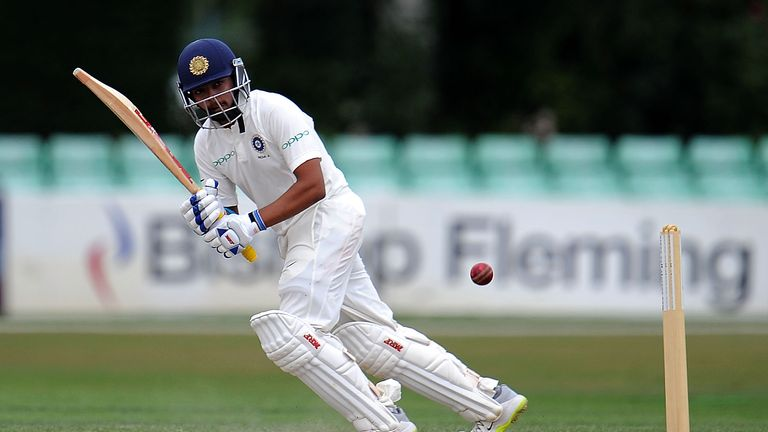 Teenager Prithvi Shaw roars at Rajkot with Test century on debut