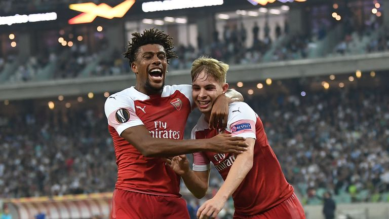 Emile Smith Rowe doubled Arsenal's advantage with his first senior goal