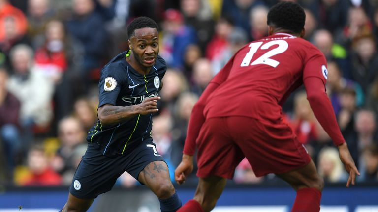 Sterling left Liverpool for Man City in 2015
