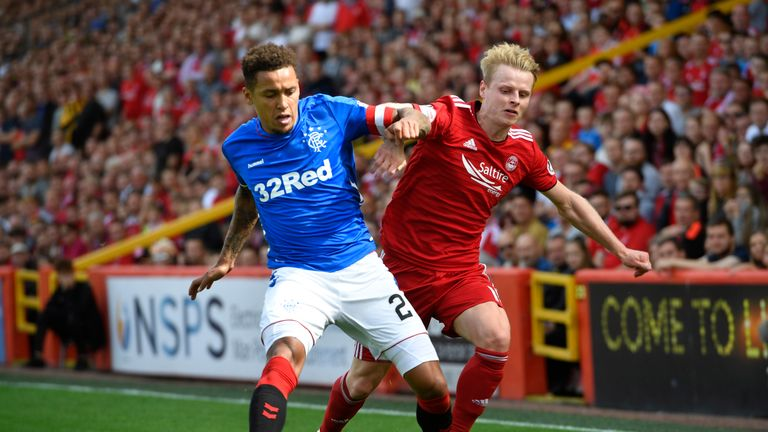 Rangers are set to face Aberdeen