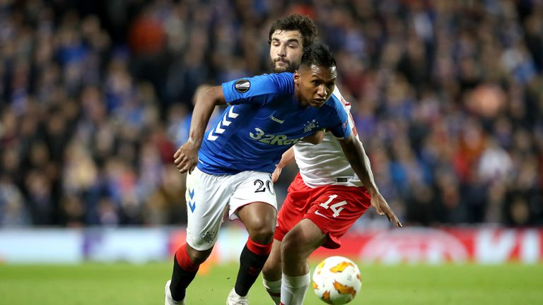 Rangers drew 0-0 with Spartak in their meeting last month